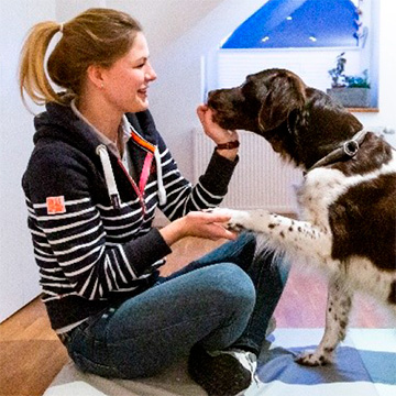 Maren Sielemannn - Tierphysiotherapeutin